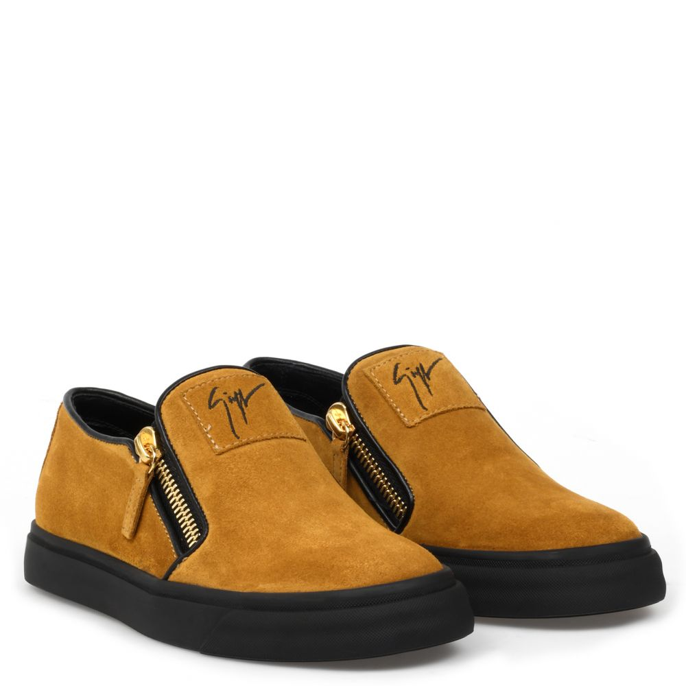EVE - Yellow - Low top sneakers