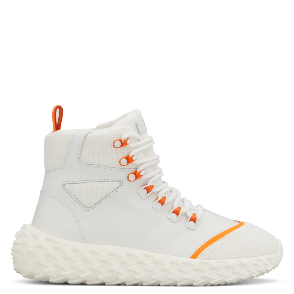 URCHIN - White - High top sneakers