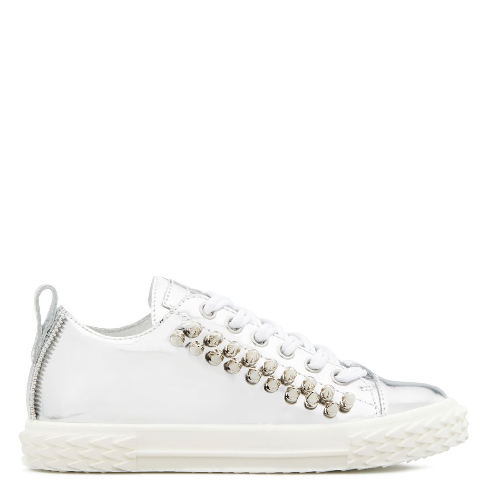 BLABBER - Silver - Low top sneakers