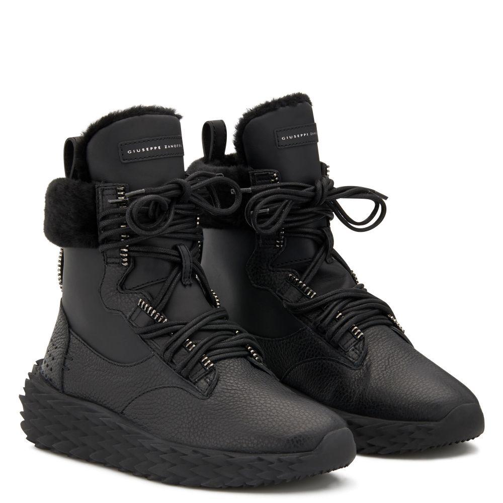 URCHIN - Black - Mid top sneakers