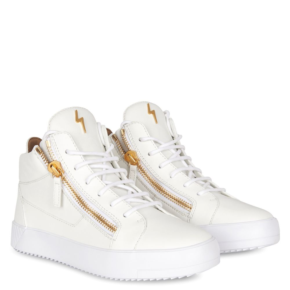 NICKI - White - Mid top sneakers