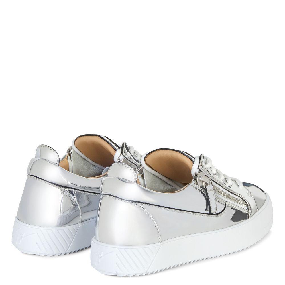 NICKI - Silver - Low top sneakers