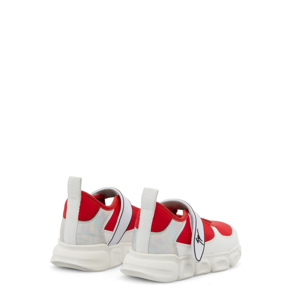 MARSHMALLOW - Red - Low top sneakers