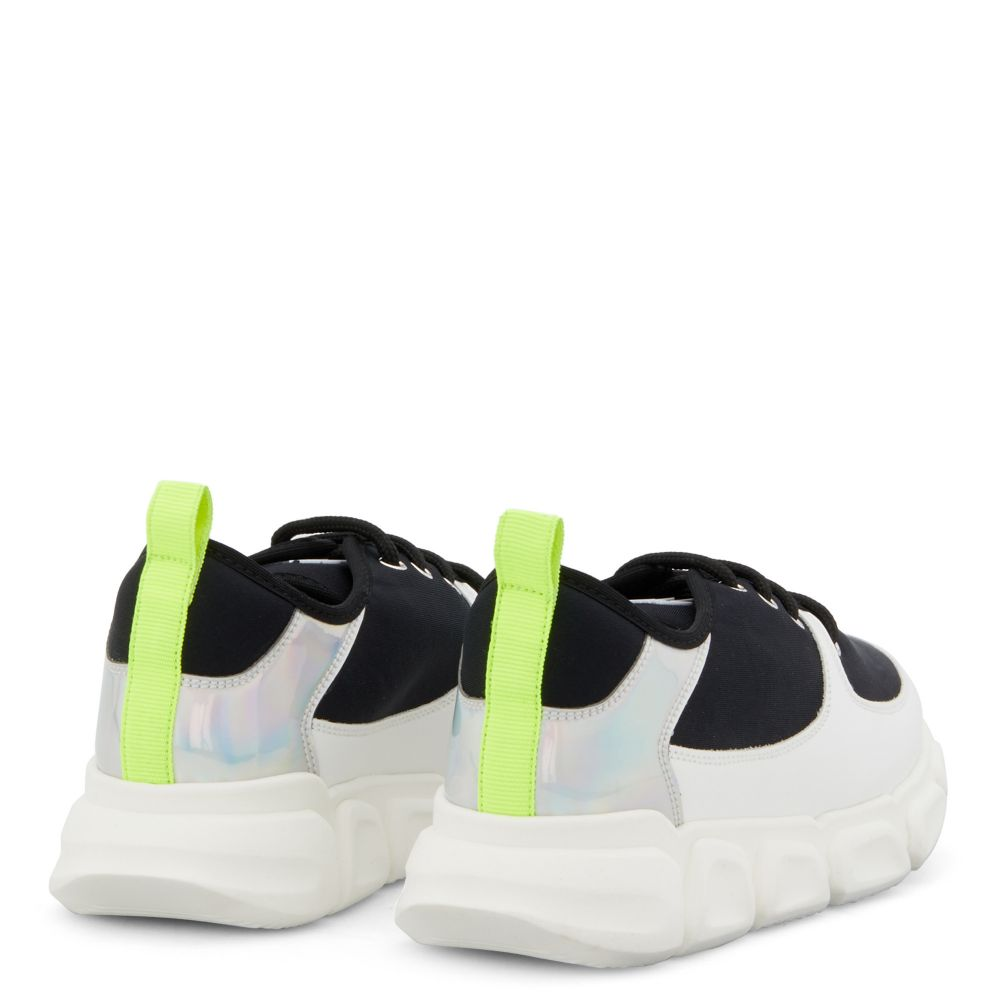 MARSHMALLOW - Black and white - Low top sneakers