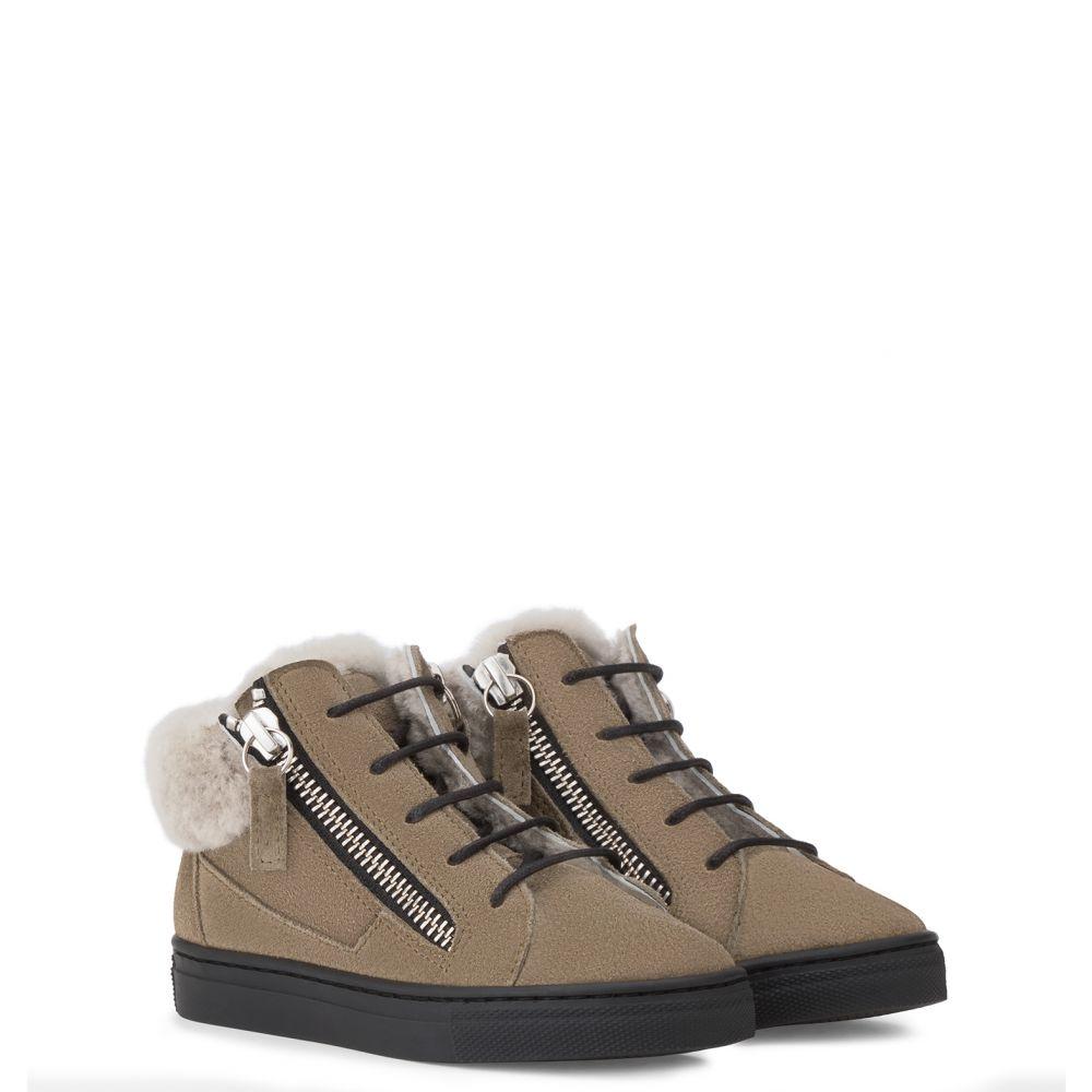 KRISS - Vert - Sneakers montante