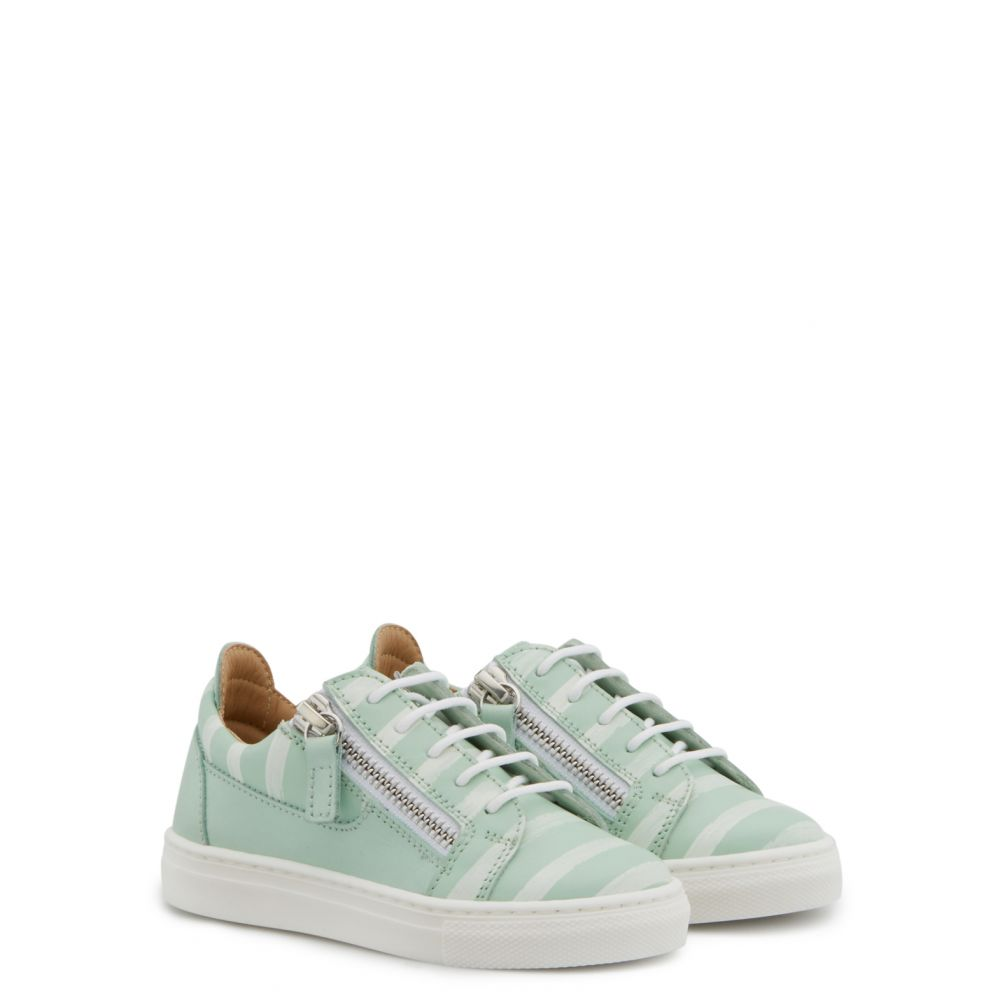 FRANKIE GLOSS JR. - Green - Low top sneakers
