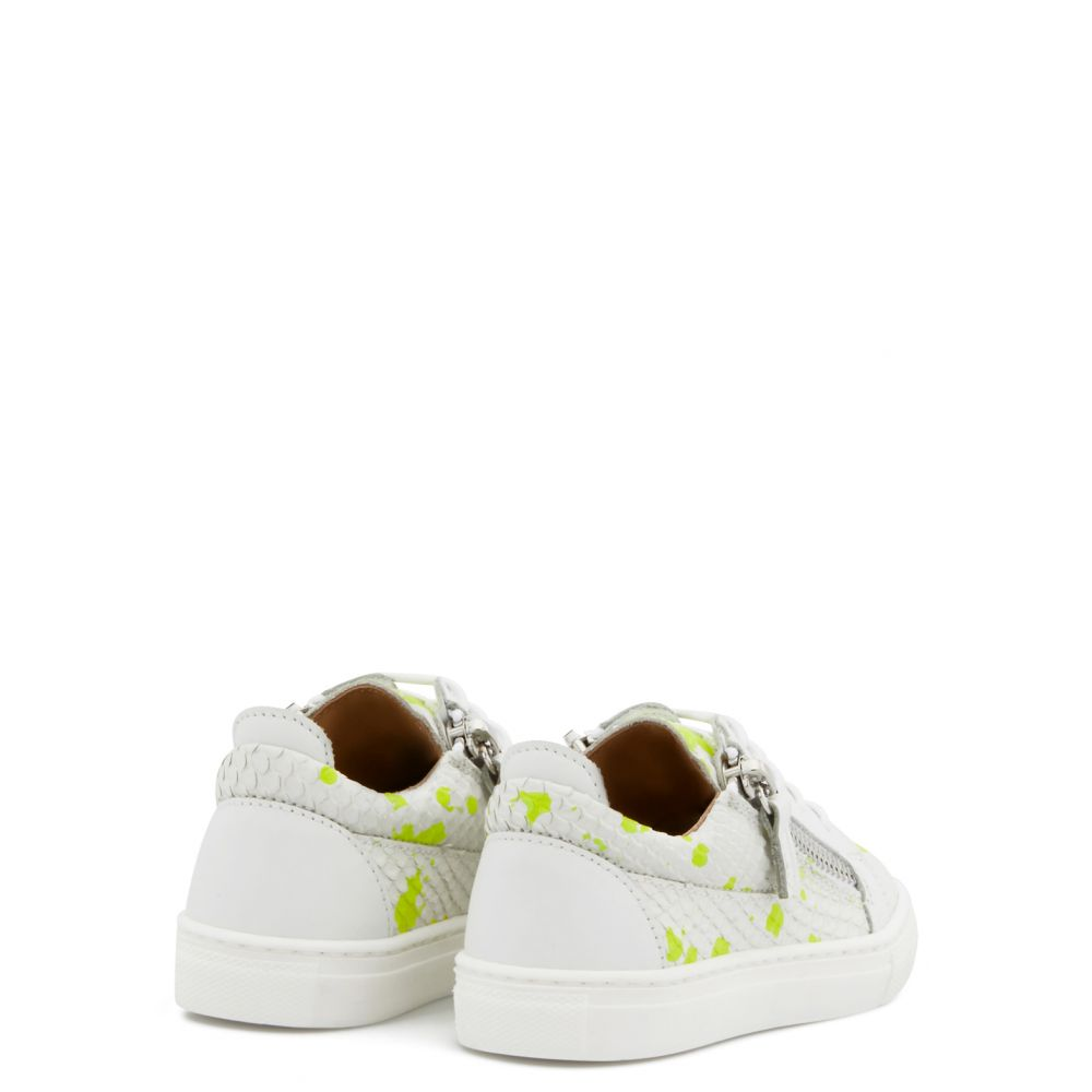FRANKIE SKETCH JR. - Yellow - Low top sneakers