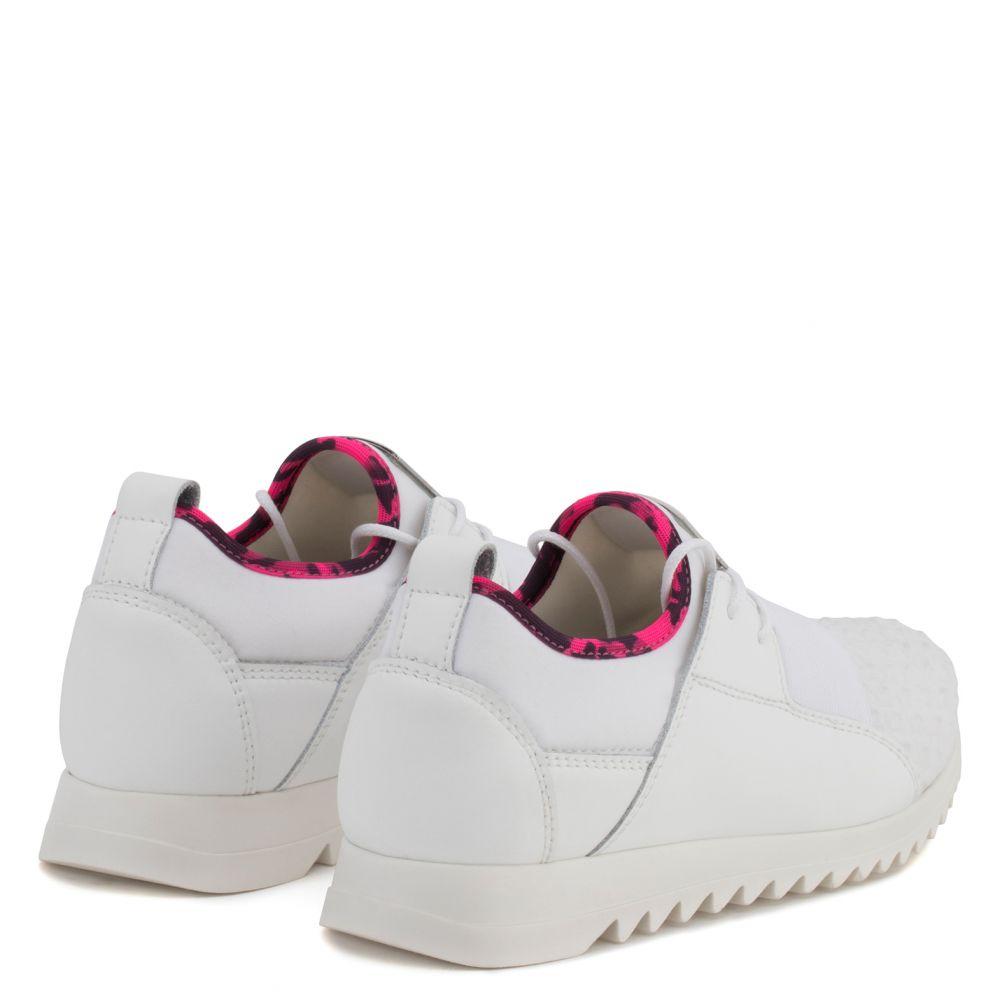 CORY JR. - White - Low top sneakers