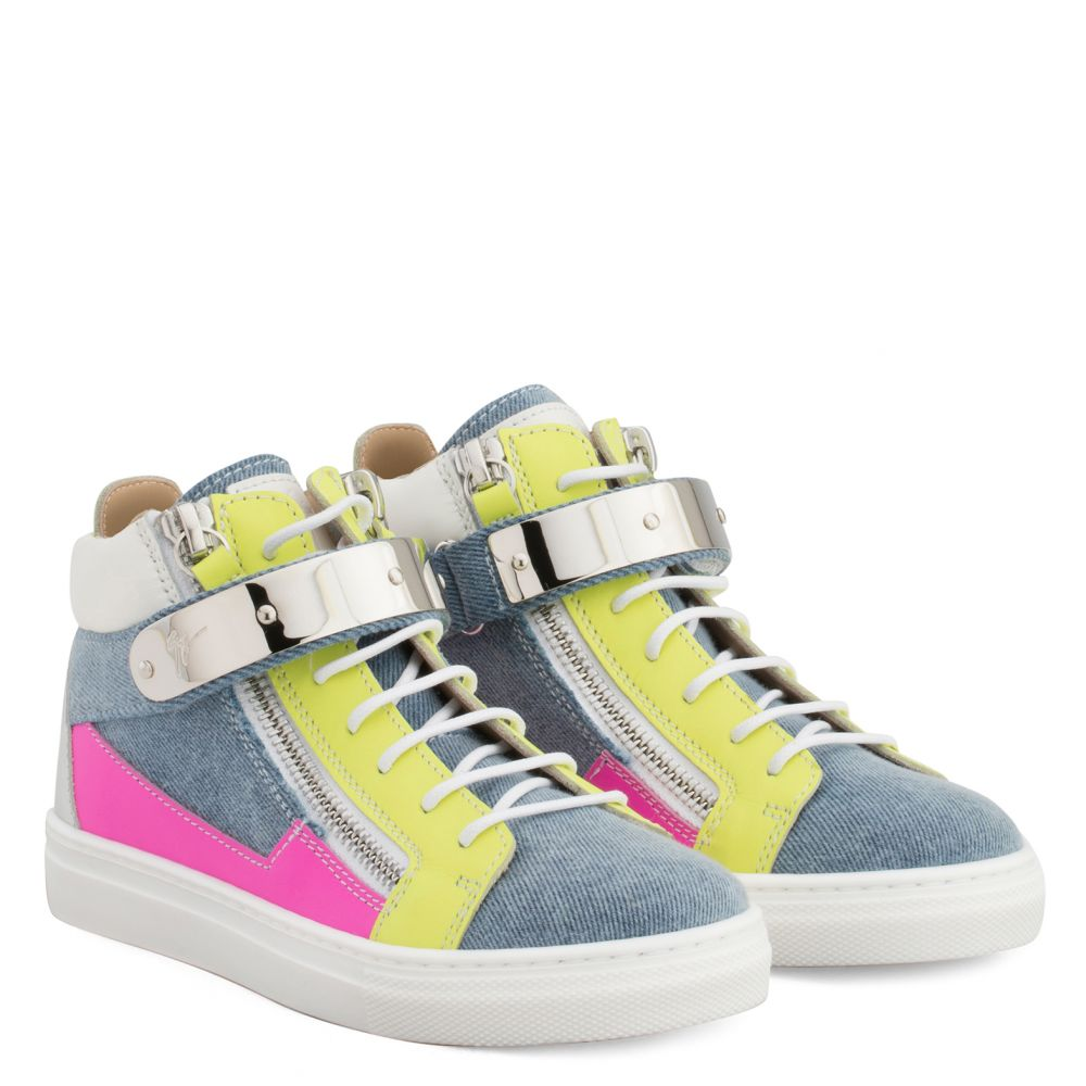 JULS JR. - Multicolor - Mid top sneakers