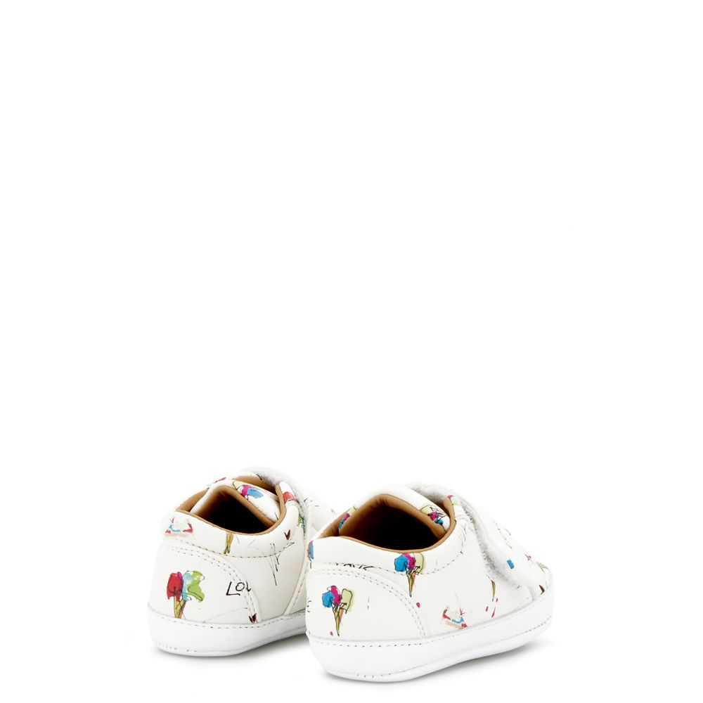 THE BABY - White - Low top sneakers