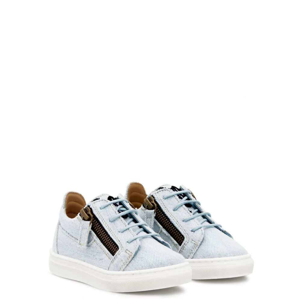 JAMIE JR. - Blue - Low top sneakers
