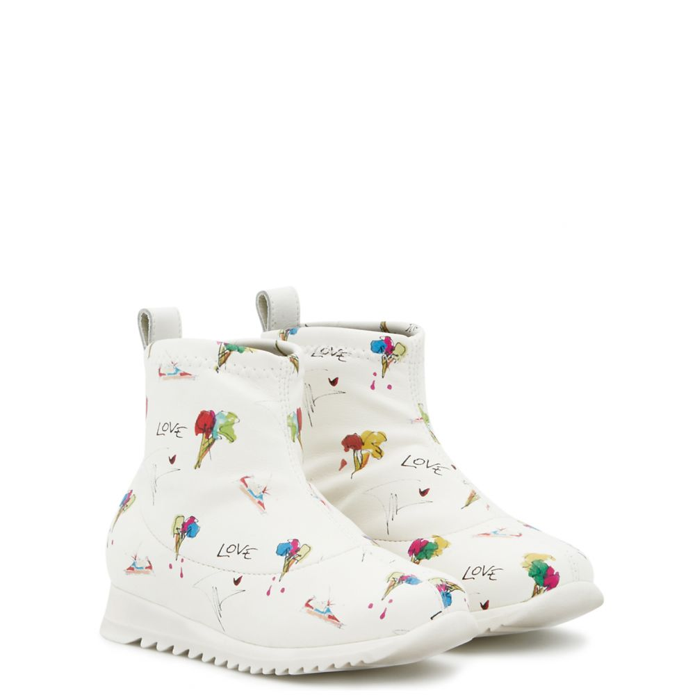 FROSTY JR. - White - Low top sneakers