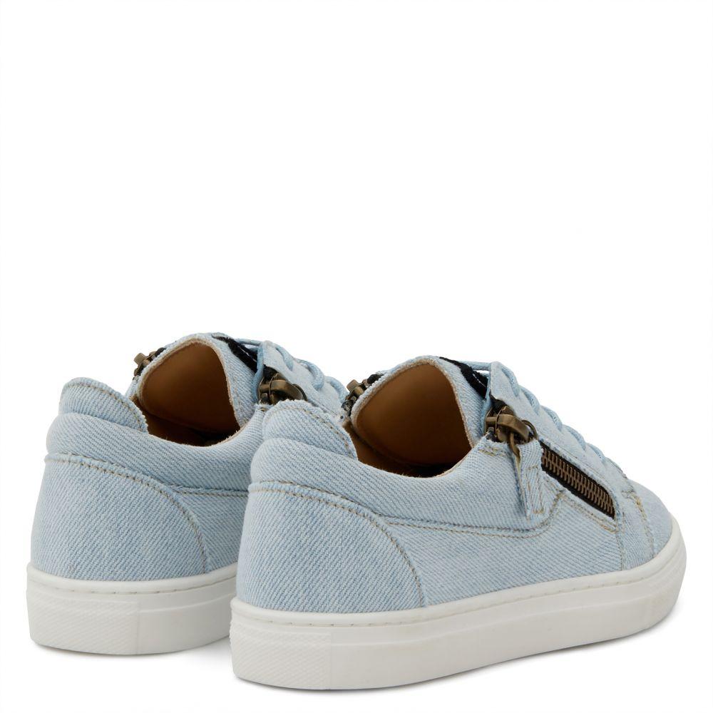 JAMIE JR. - Blue - Low top sneakers