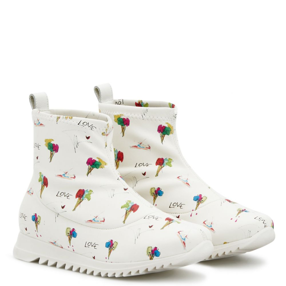 FROSTY JR. - White - Boots