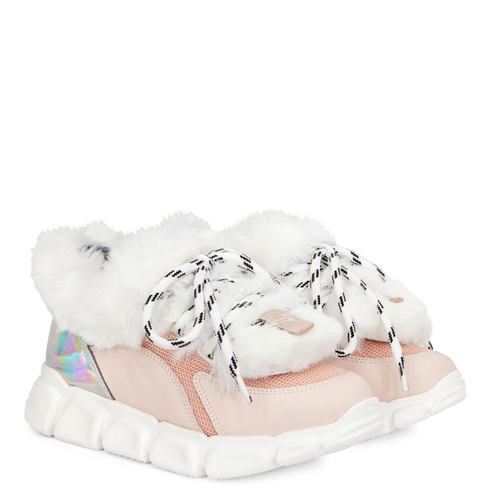 MARSHMALLOW WINTER - Pink - Low top sneakers