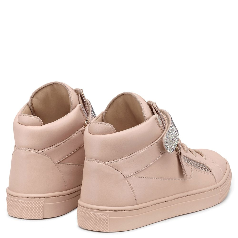 DOLLY - Rose - Sneakers montante