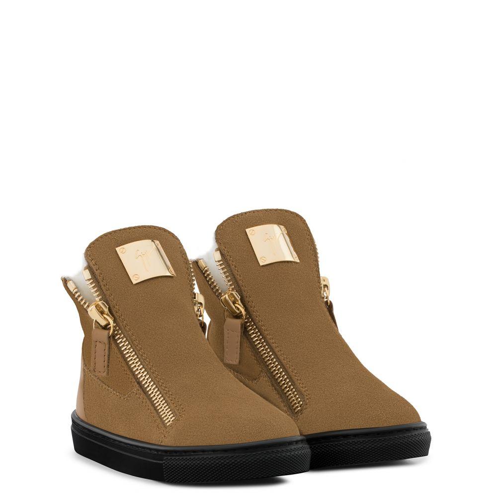 LARRY JR. - Beige - Boots