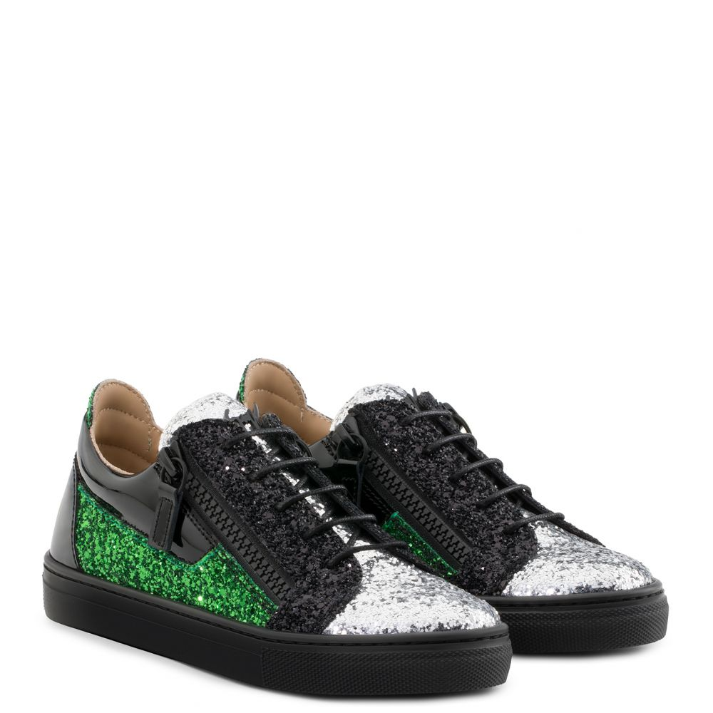 GAIL JR. - Silver - Low top sneakers