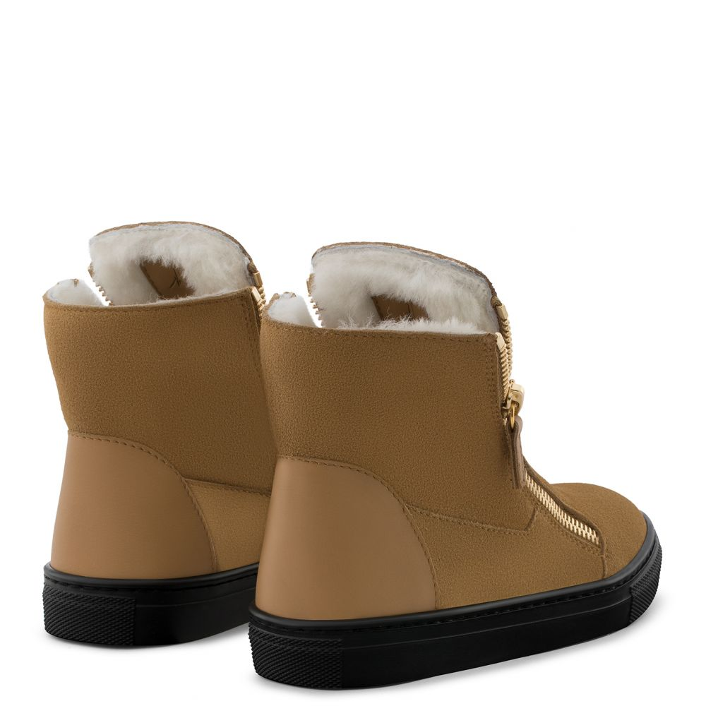 LARRY JR. - Beige - Boots
