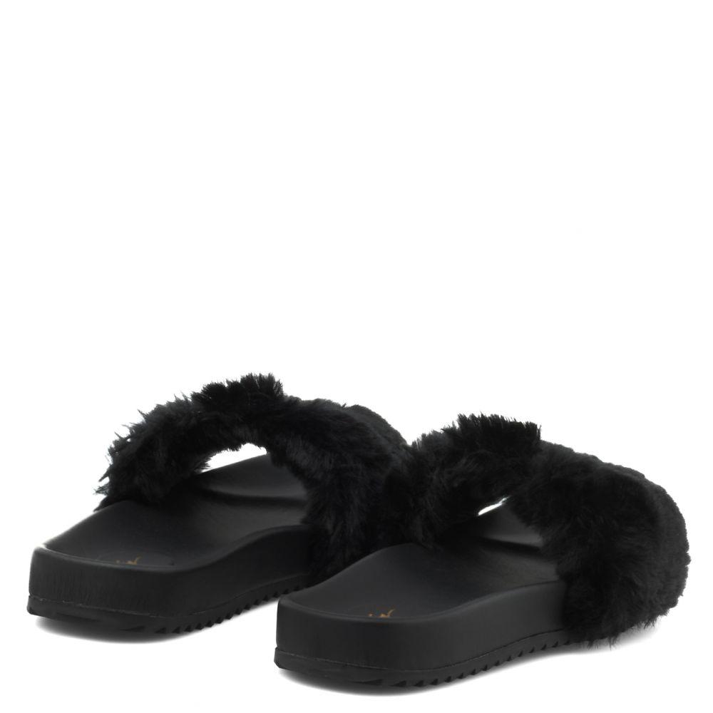 NEIL JR. - BLack - Sandals