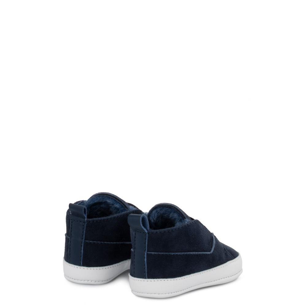 THE BABY - Blu - Sneaker mid top