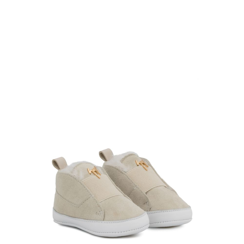 THE BABY - Beige - Sneakers montante