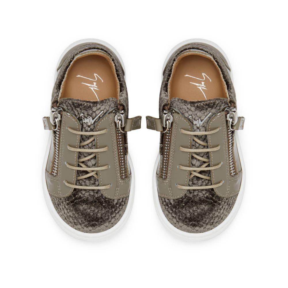 GAIL VELVET JR. - Grey - Low top sneakers