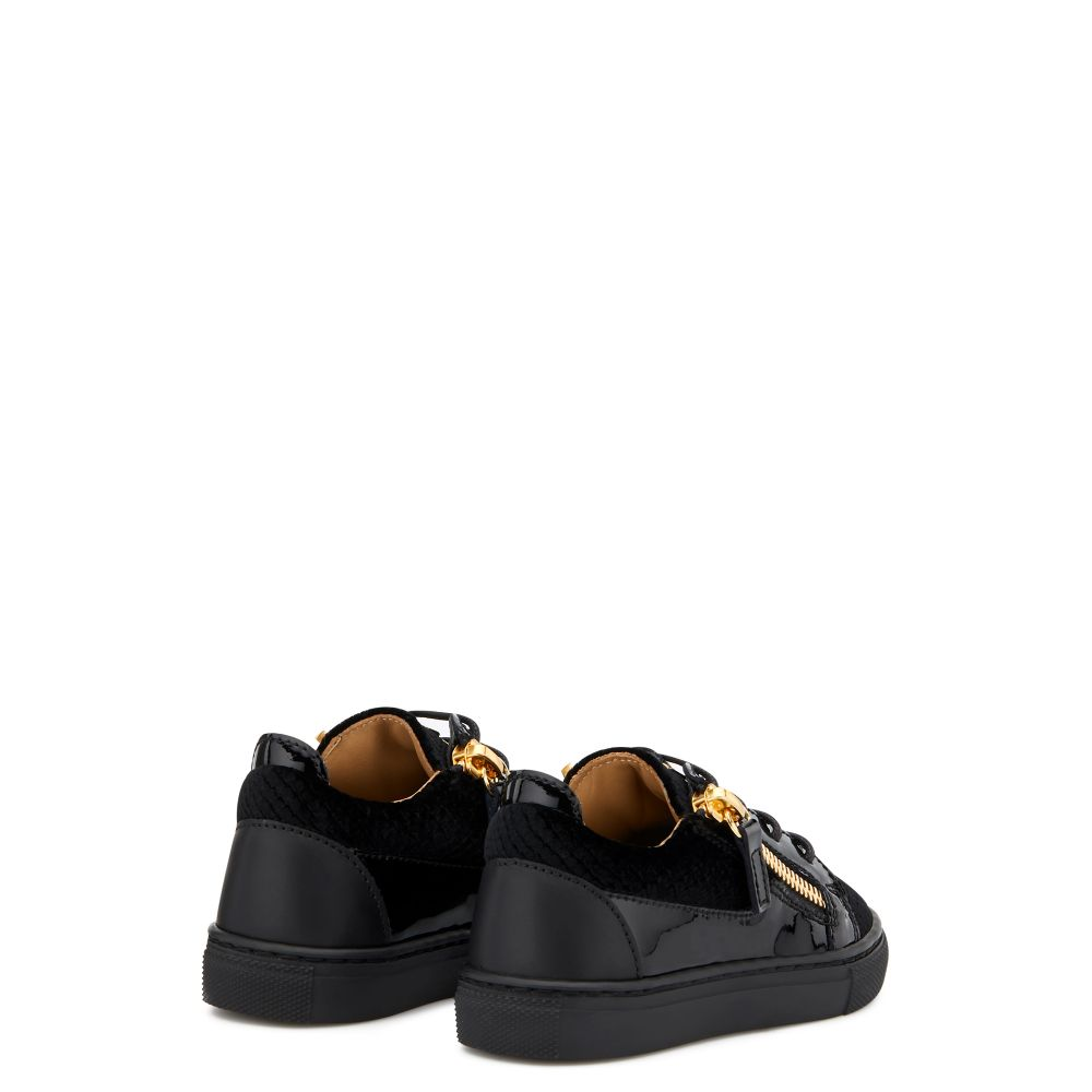 GAIL VELVET JR. - Black - Low top sneakers