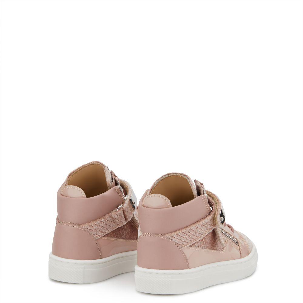 KRISS 1/2 JR. - Pink - Mid top sneakers