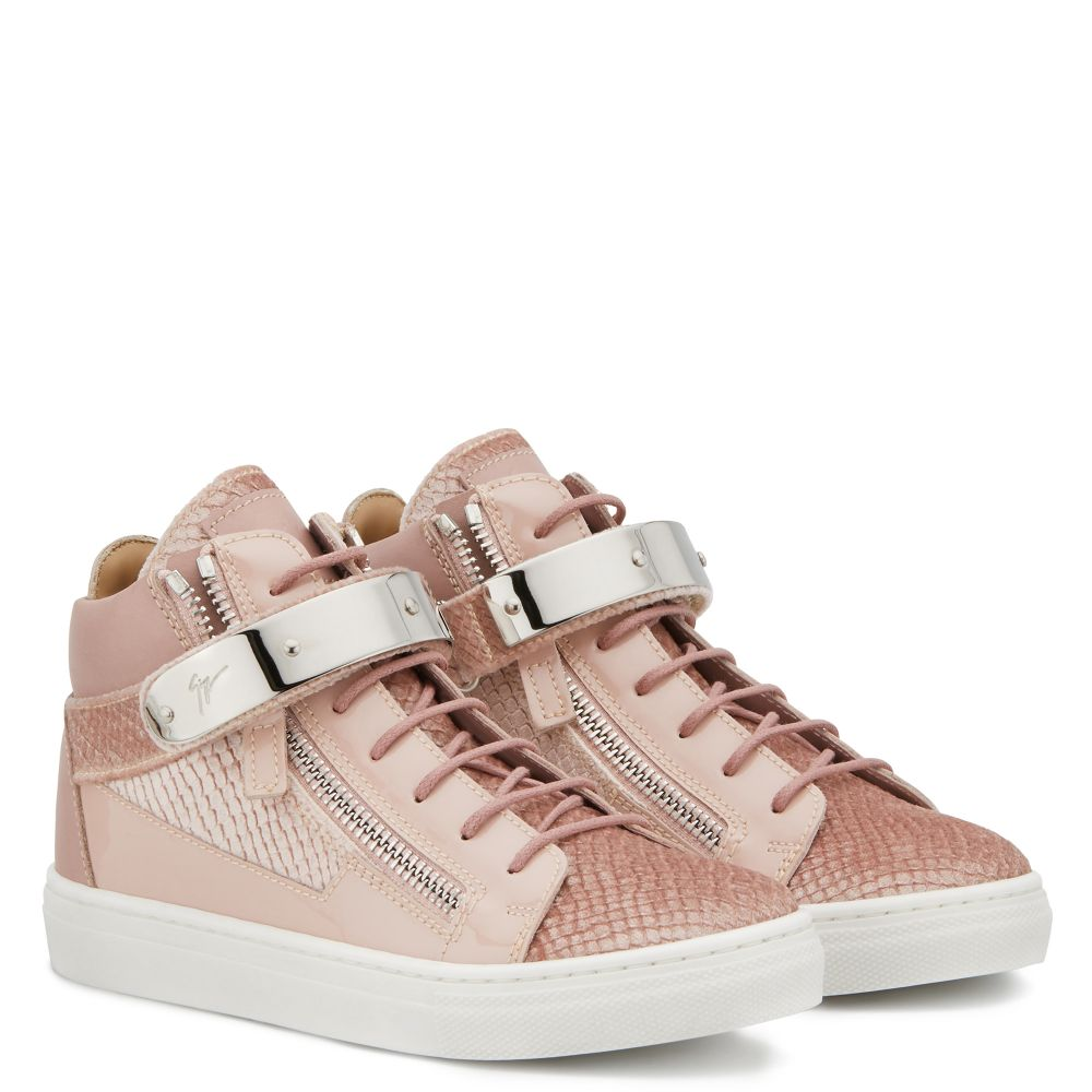KRISS 1/2 JR. - Pink - Mid top sneakers