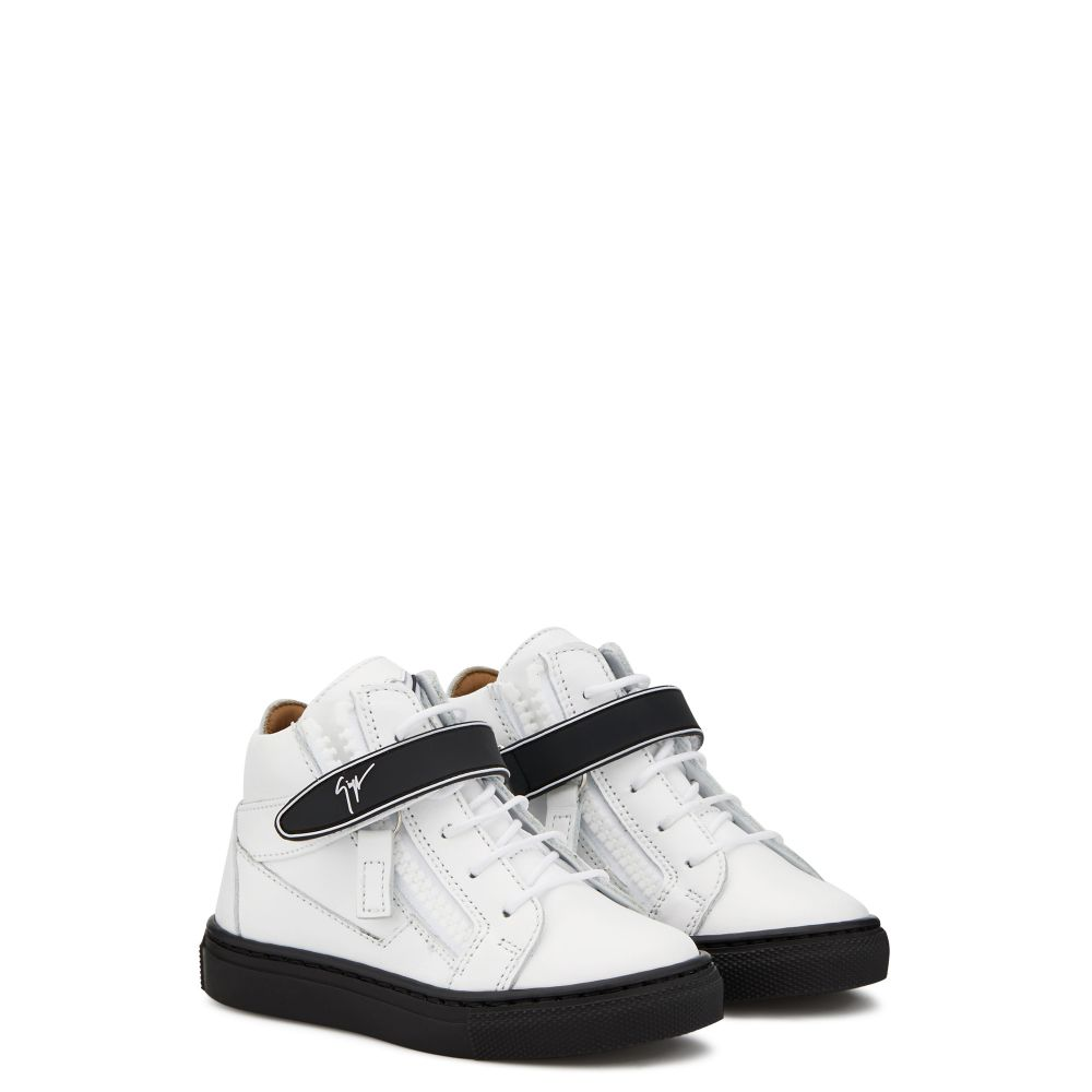 KRISS 1/2 JR. - White - Mid top sneakers