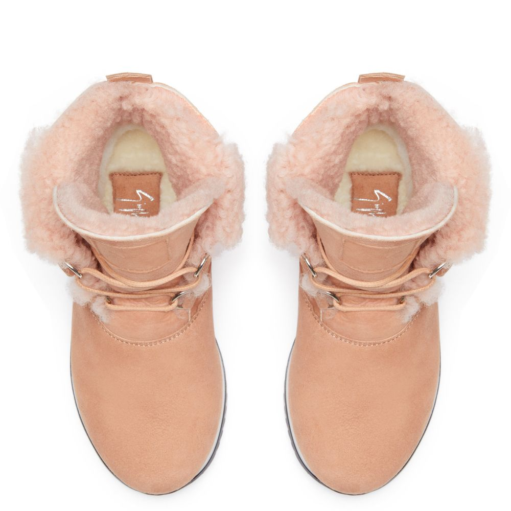 ALISSA - Pink - High top sneakers