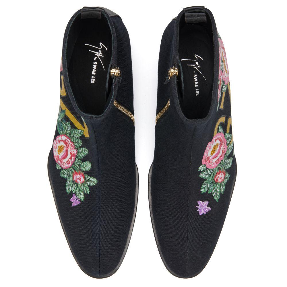GZXSWAELEE - Black - Boots